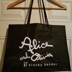 Alice + Olivia Large Shopping Tote NWOT
